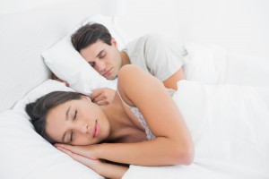 Shutterstock Sleep Apnea Couple Peaceful